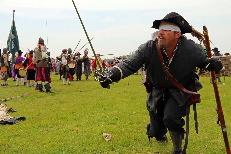 Het staatse leger van oranje verslaat spanje in de strijd op 39 t souteveen - Moderne overwinning ...
